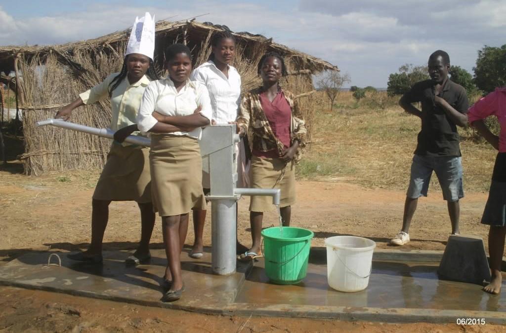 Ein Brunnenprojekt in Malawi