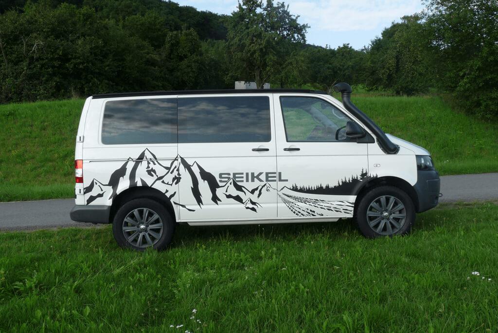 Volkswagen Transporter T5 En Seikel